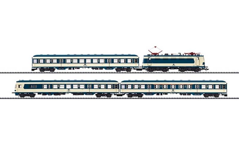 画像1: 鉄道模型 トリックス Trix 21337 カールスルー列車セット HOゲージ