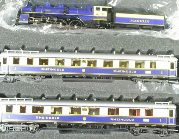 画像2: 鉄道模型 メルクリン Marklin 26751 ラインゴールド 列車セット 限定品 HOゲージ