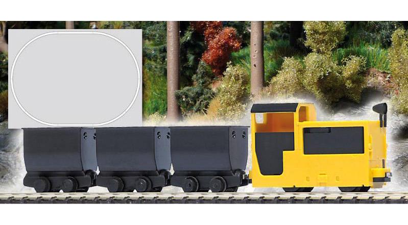 画像2: 鉄道模型 Busch ブッシュ 5000 鉱山列車スターターセット HOゲージ