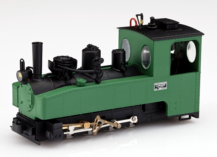 画像1: 鉄道模型 ミニトレインズ Minitrains 1023 ブリゲイドロック 緑色 蒸気機関車 HOナローゲージ(9mm)