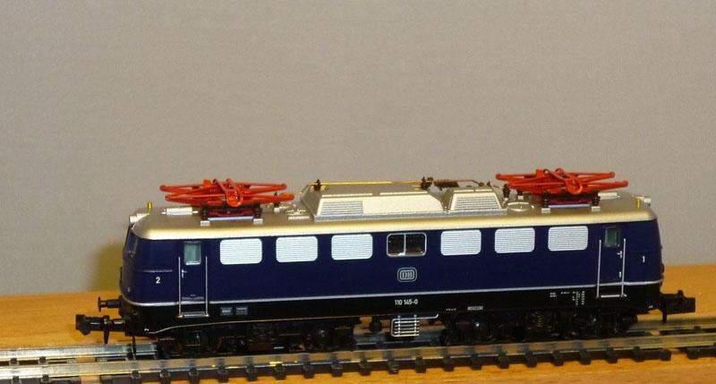 画像1: 鉄道模型 ホビートレイン HobbyTrain 2812 BR110 青 電気機関車 Nゲージ