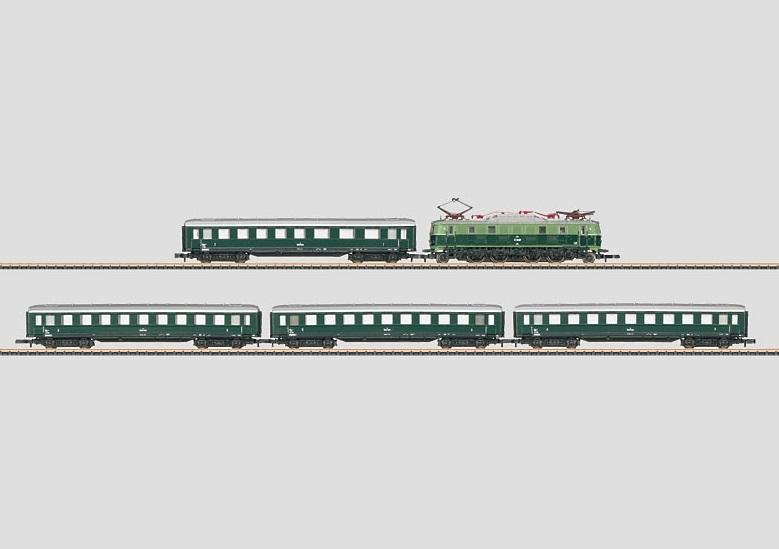 画像1: 鉄道模型 メルクリン Marklin 81441 オーストリア 急行列車セット Zゲージ