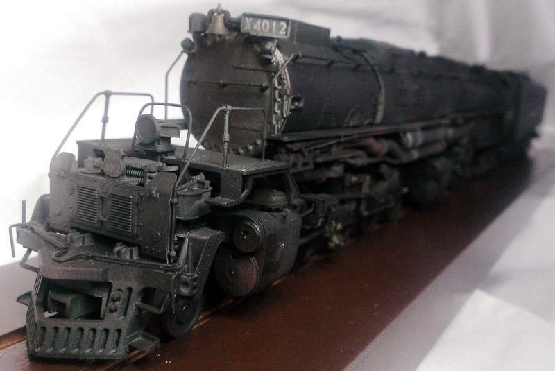 画像2: 鉄道模型 メルクリン Marklin 37992 BIGBOY ビッグボーイ 4012 蒸気機関車 ウェザリング塗装 HOゲージ