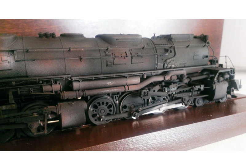画像4: 鉄道模型 メルクリン Marklin 37992 BIGBOY ビッグボーイ 4012 蒸気機関車 ウェザリング塗装 HOゲージ