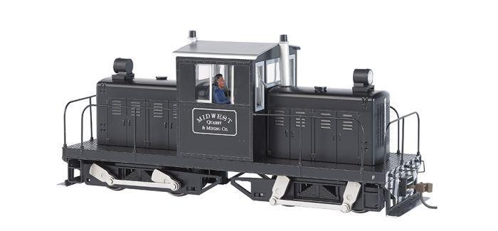画像1: 鉄道模型 バックマン Bachmann 29201 Spectrum センターキャブ 50トン ディーゼル機関車 ナローゲージ On30