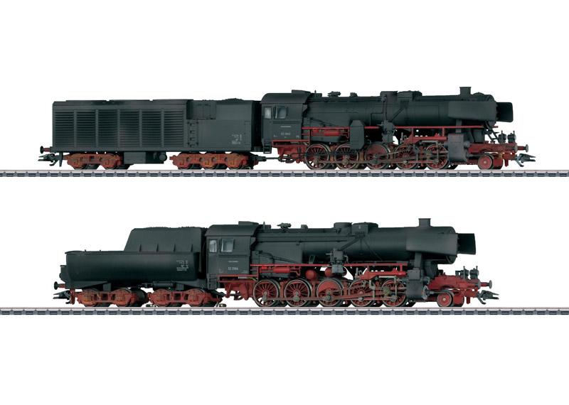 画像1: 鉄道模型 メルクリン Marklin 31031 DB BR52 蒸気機関車 2両セット ウェザリング塗装 HOゲージ 限定品