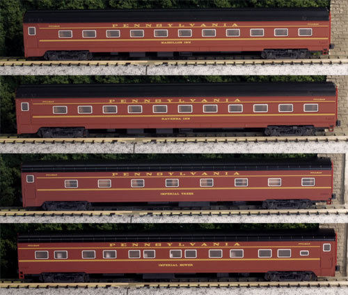 画像1: 鉄道模型 カトー KATO 106-7111 ペンシルベニア鉄道ブロードウェイ・リミテッド客車 4両増結セット Nゲージ