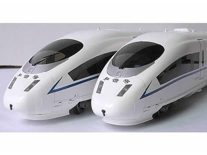 画像1: 鉄道模型 バックマン Bachmann CE00501 中国高速鉄道 CRH3型電車「和諧号」5両セット HOゲージ