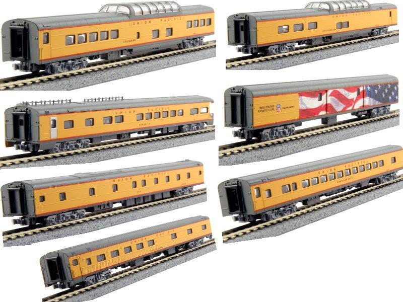 画像2: 鉄道模型 カトー KATO 106-086 ユニオンパシフィック エクスカージョントレイン 客車 7両セット Nゲージ