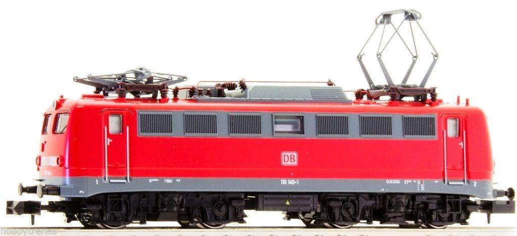画像1: 鉄道模型 ホビートレイン HobbyTrain 2831 BR110 140-1 赤 電気機関車 Nゲージ