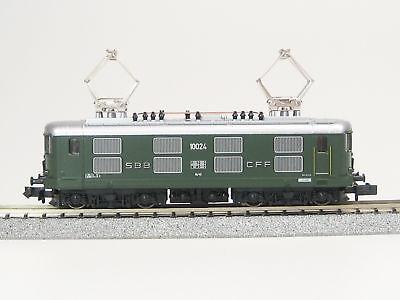 画像1: 鉄道模型 カトー KATO 11603 スイス連邦鉄道 SBB CFF Re 4/4 I グリーン 電気機関車 Nゲージ