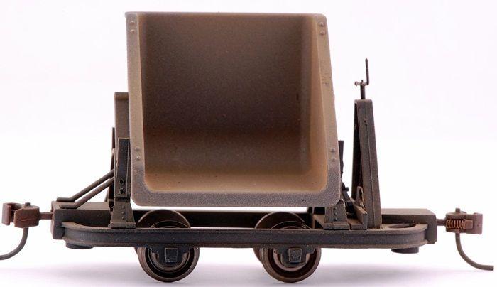 画像2: 鉄道模型 バックマン Bachmann 29802 Vダンプ 3両セット 貨車 ナローゲージ On30