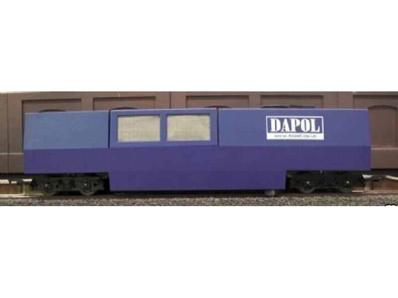 画像2: 鉄道模型 Dapol B800 レールクリーニングカー HO/OOゲージ