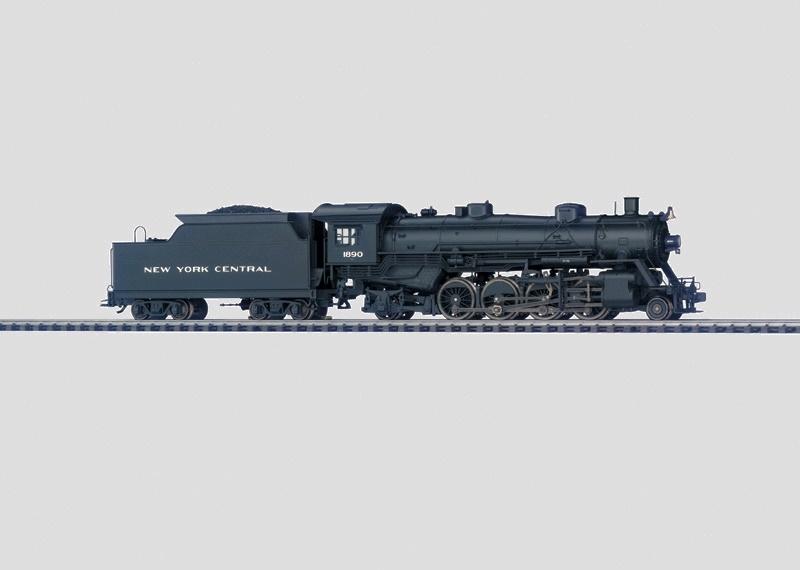 画像1: 鉄道模型 メルクリン Marklin 37970 NYC Reihe H6 ミカド型 蒸気機関車 HOゲージ