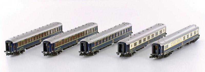 画像1: 鉄道模型 カトー KATO K23219 CIWL ポリエント急行 客車5両セット Nゲージ
