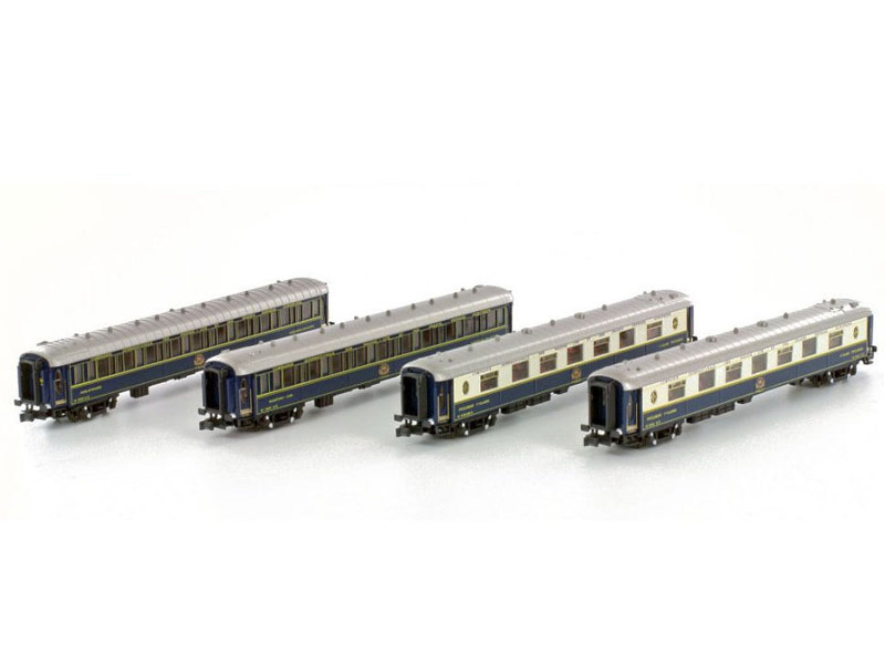 画像1: 鉄道模型 カトー KATO K23218 CIWL Riviera Express リヴィエラ急行 客車4両セット Nゲージ