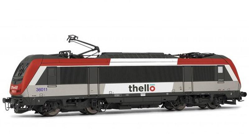 画像1: 鉄道模型 ジュエフ Jouef HJ2288 BB36000 電気機関車 Thello塗装 HOゲージ