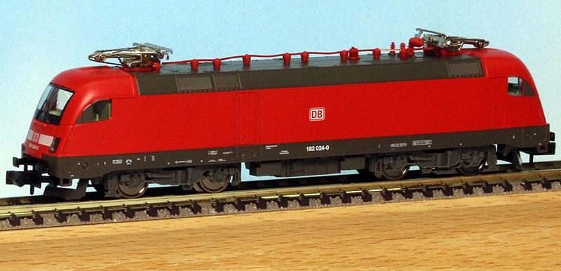 画像1: 鉄道模型 ミニトリックス MINITRIX 11124 BR182 電気機関車 Nゲージ