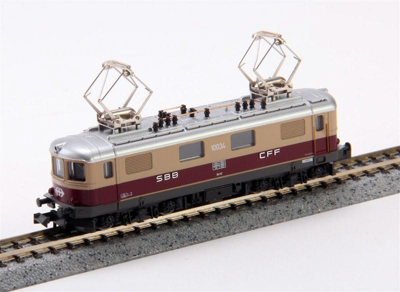 画像1: 鉄道模型 カトー KATO 11605 スイス連邦鉄道 SBB CFF Re 4/4 I TEE 電気機関車 Nゲージ