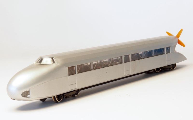 画像1: 鉄道模型 メルクリン Marklin 3077 ドイツ プロペラ推進高速鉄道 レールツェッペリン HOゲージ