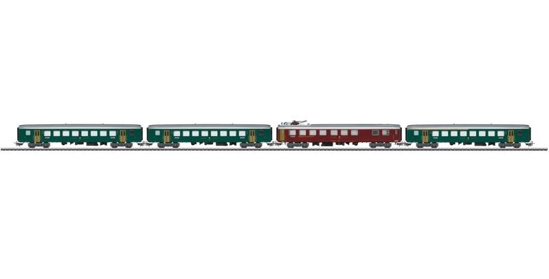 画像1: 鉄道模型 メルクリン Marklin 40661 SBB メタル客車セット HOゲージ