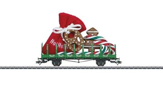 画像1: 鉄道模型 メルクリン Marklin 48416 クリスマスカー 2016 貨車 HOゲージ