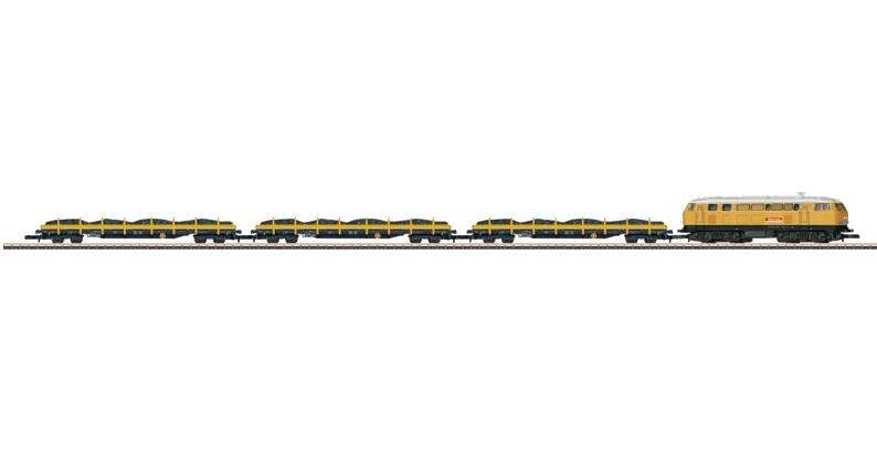 画像1: 鉄道模型 メルクリン Marklin 81071 ミニクラブ mini-club 保線列車セット 貨車  Zゲージ
