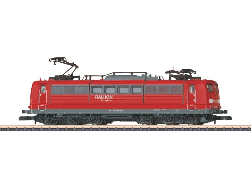 画像1: 鉄道模型 メルクリン Marklin 88261 ミニクラブ mini-club BR 151 電気機関車 Zゲージ