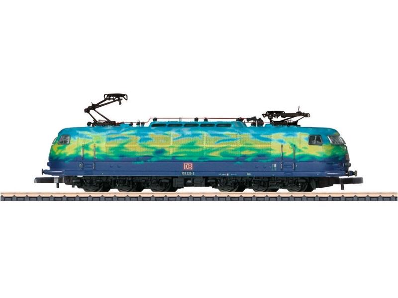 画像1: 鉄道模型 メルクリン Marklin 88542 ミニクラブ mini-club DB AG 103.1 Touristik塗装 電気機関車 Zゲージ