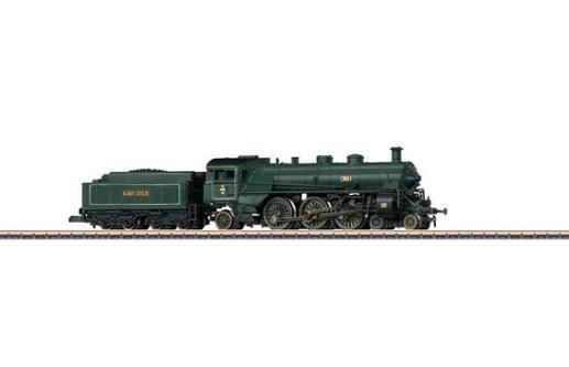 画像1: 鉄道模型 メルクリン Marklin 88923 ミニクラブ mini-club バイエルン王立鉄道 S 3/6 Wind Splitter 蒸気機関車 Zゲージ