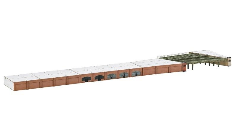 画像1: 鉄道模型 メルクリン Marklin 89793 ミニクラブ mini-club ハンブルク ダムトーア駅アーケード&高架橋セット Zゲージ