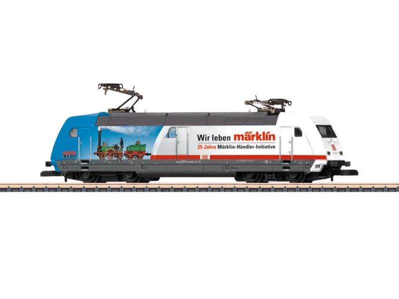 画像1: 鉄道模型 メルクリン Marklin 88676 ミニクラブ mini-club DB AG 101 MHI 25周年記念  電気機関車 Zゲージ