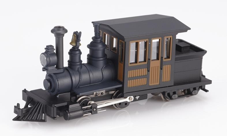 画像1: 鉄道模型 ミニトレインズ Minitrains MT-1031 フォーニィ 黒/茶 HOn30 蒸気機関車 ナローゲージ(9mm)
