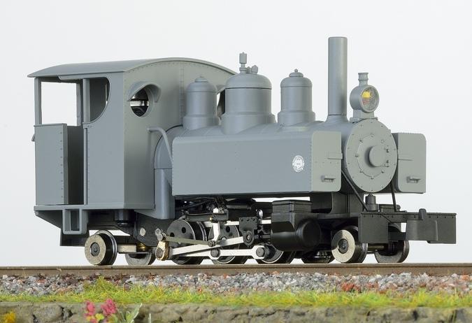 画像1: 鉄道模型 ミニトレインズ Minitrains MT-1072 ボールドウィン 2-6-2 灰色 クローズキャブ  HOn30 蒸気機関車 ナローゲージ(9mm)