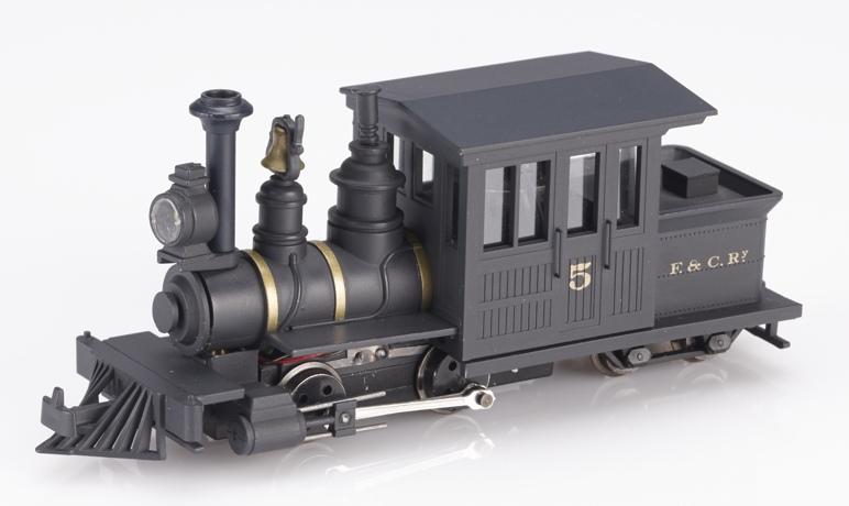 画像1: 鉄道模型 ミニトレインズ Minitrains MT-1032 フォーニィ F&C No.5 HOn30 蒸気機関車 ナローゲージ(9mm)