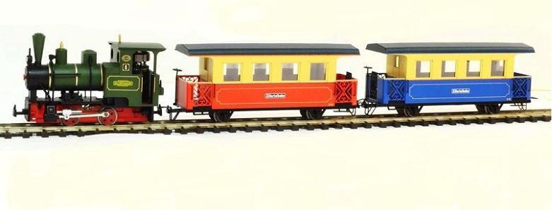 画像1: 鉄道模型 ミニトレインズ Minitrains MT-1401 MT ツィラータール鉄道 トレインセット HOn30 ナローゲージ(9mm)
