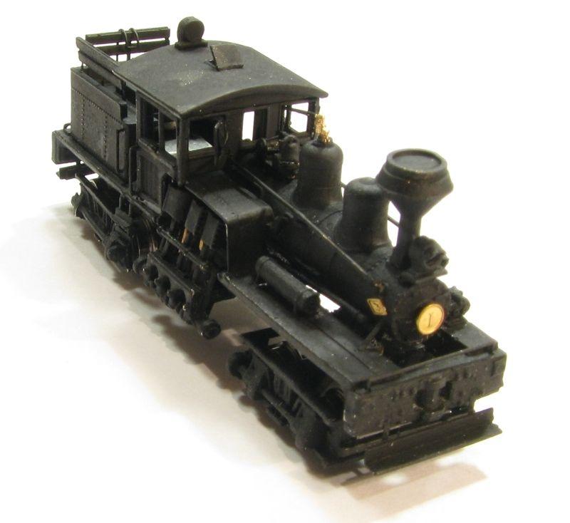 画像2: 鉄道模型 Class B, 30-40 Ton Shay Locomotive Kit シェイ 蒸気機関車 組み立てキット Nゲージ