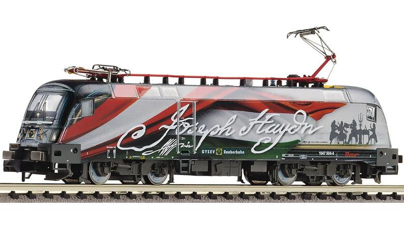 画像1: 鉄道模型 フライシュマン Fleischmann 731186 1047 Hayden Sound 電気機関車 Nゲージ
