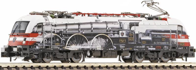 """画像1: 鉄道模型 フライシュマン Fleischmann 781278 OBB ES 64 """"175 Jahre Eisenbahn"""" 電気機関車 Nゲージ"""