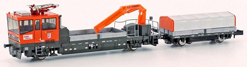 画像1: 鉄道模型 ホビートレイン HobbyTrain H23564 OBB X630 保線作業車両 Nゲージ