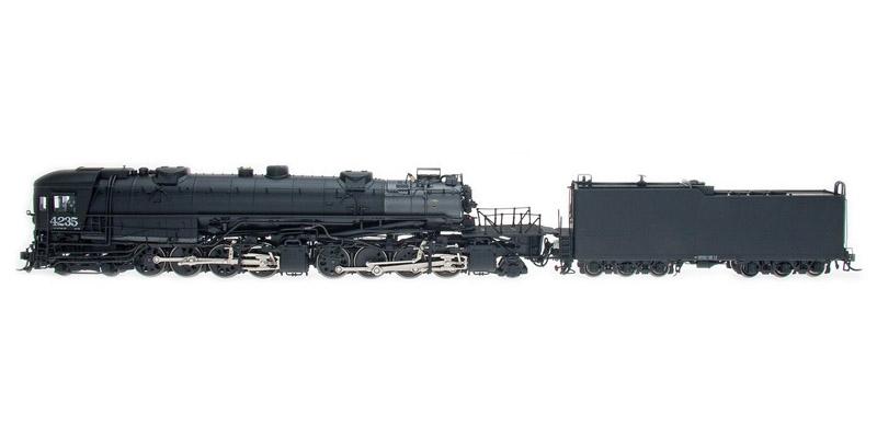 画像1: 鉄道模型 InterMountain 59043S Southern Pacific AC-10 キャブフォワード型 4235号機 蒸気機関車 HOゲージ