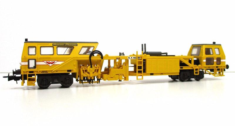 画像1: 鉄道模型 リリプット Liliput 136117 マルチプルタイタンパー 線路保線作業車 HOゲージ