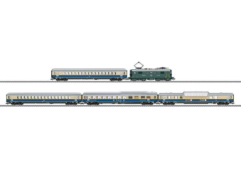 画像1: 鉄道模型 メルクリン Marklin 26604 ラインゴールド 列車セット HOゲージ