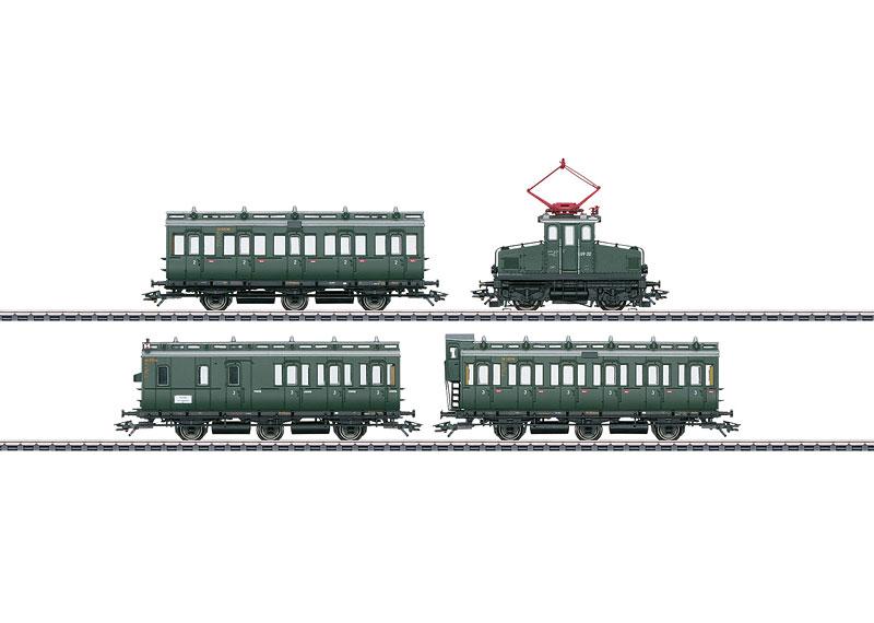 画像1: 鉄道模型 メルクリン Marklin 26195 E69 電気機関車 列車セット HOゲージ
