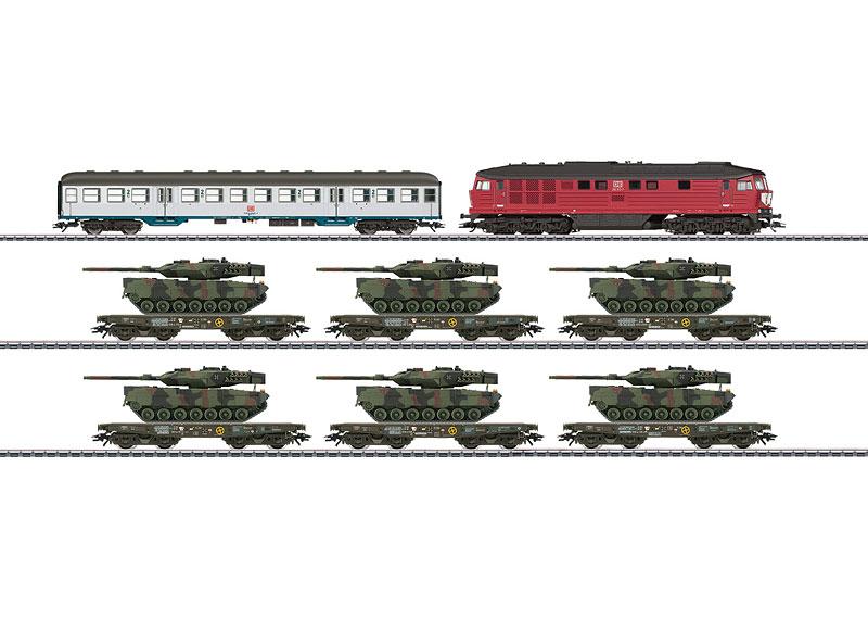画像1: 鉄道模型 メルクリン Marklin 26606 ドイツ連邦軍 軍事貨物列車セット HOゲージ
