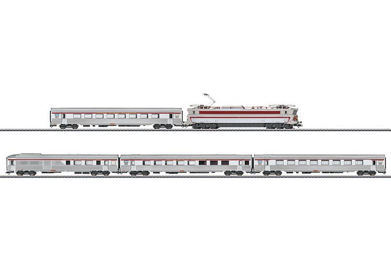 画像1: 鉄道模型 メルクリン Marklin 26608 SNCF TEE 列車セット HOゲージ