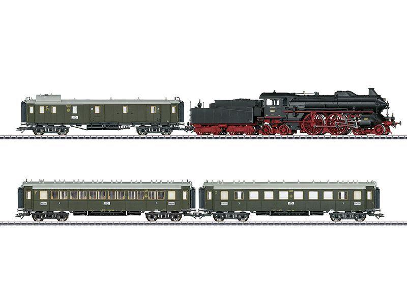 画像1: 鉄道模型 メルクリン Marklin 26607 DRG 急行列車セット HOゲージ 限定品