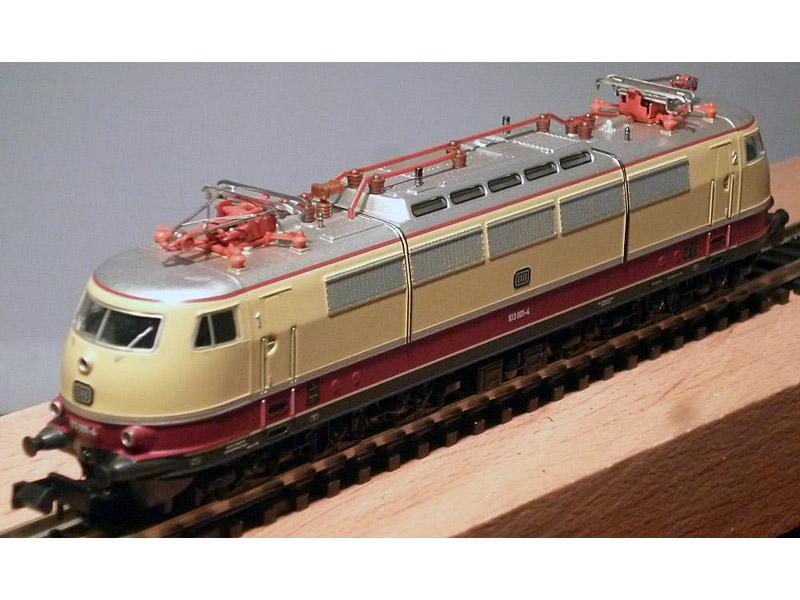 画像2: 鉄道模型 ミニトリックス MINITRIX 12590 DB BR 103.0 電気機関車 Nゲージ