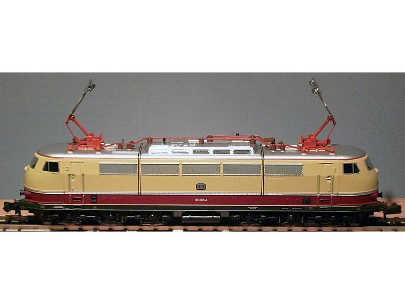 画像1: 鉄道模型 ミニトリックス MINITRIX 12590 DB BR 103.0 電気機関車 Nゲージ