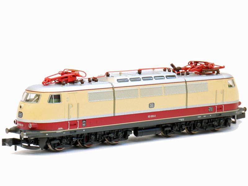 画像1: 鉄道模型 ミニトリックス MINITRIX 16351 DB BR 103.002 電気機関車 Nゲージ